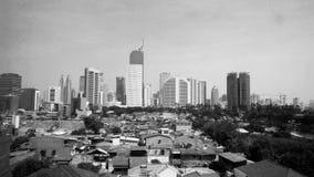 Contrast. Hitam putih Jakarta Royalty Free Stock Photography