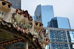 Contrast i staden arkivfoton