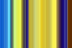 Contrast lines background in yellow blue hues. Contrast lines soft background in yellow, blue and brown hues, abstract background vector illustration