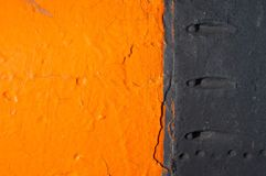 Contrast Orange Background Royalty Free Stock Photography
