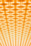 The contrast orange geometric pattern background or texture. stock photo