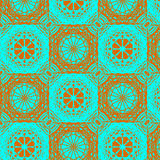 Contrast ornament seamless pattern royalty free stock photos