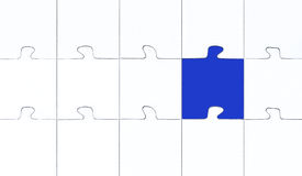 Contrast puzzle Royalty Free Stock Photography