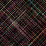 Contrast seamless pattern. Random lines. Vibrant colors. Plaid abstract pattern. Royalty Free Stock Photos