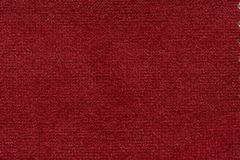 Contrast soft fabric texture in fascinating red colour. High resolution photo stock photos