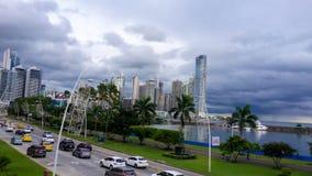 Contrast van steden stock foto's