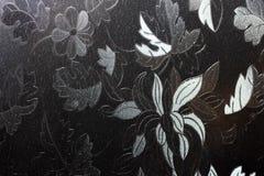 Contrast zwart-wit glas royalty-vrije stock afbeeldingen