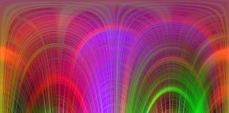 Contraste as linhas vívidas fluidas, cores, linhas fundo, contrastes macios da mistura, gráficos abstratos Fundo e textura abstra ilustração do vetor