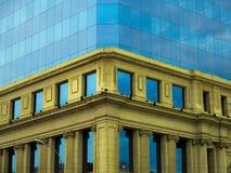 Contraste da arquitetura Imagem de Stock Royalty Free