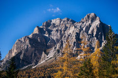 Contraste da montanha Foto de Stock Royalty Free