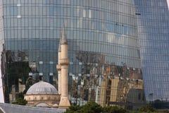 Contraste de Baku Imagen de archivo libre de regalías