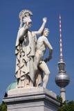 Contraste de Berlín fotos de archivo