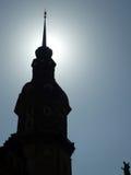 Contraste de Sun, Dresden, Alemanha Fotos de Stock