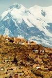 Ciudad de La Paz Foto de archivo libre de regalías