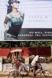 Contraste en la India Foto de archivo libre de regalías