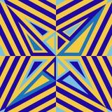Contraste geométrico inconsútil de la textura Imágenes de archivo libres de regalías