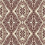 Contraste Lacy Seamless Tribal Pattern Fotos de archivo