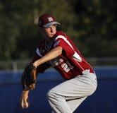 Contraste mayor de la serie de mundo del béisbol de la liga Foto de archivo libre de regalías