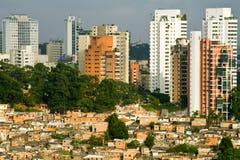 Paisaje urbano de Sao Paulo Foto de archivo libre de regalías
