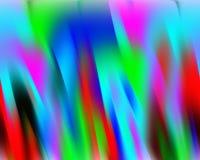 Contrastes, cores, geometria abstratas vívidas borradas, textura vívida abstrata ilustração royalty free