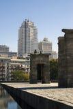 Contrastes de Madrid Foto de archivo