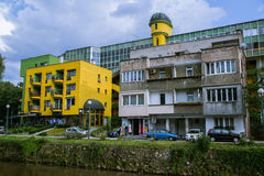 Contrastes de Sarajevo Photo libre de droits