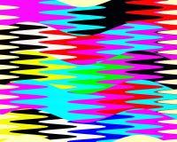 Contrastes, geometria abstratas vívidas brincalhão, textura vívida abstrata ilustração do vetor