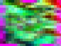 Contrastes, geometria abstratas vívidas dos quadrados do arco-íris, textura vívida abstrata ilustração stock