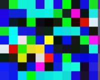 Contrastes, geometria abstratas vívidas escuras amarelas azuis, textura vívida abstrata ilustração royalty free
