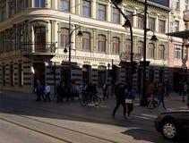 Contrasti di Lodz Fotografia Stock Libera da Diritti
