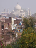 Contrasting Buildings, Agra Royalty Free Stock Images