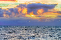 Contrasting and changeable North sea Stock Photo