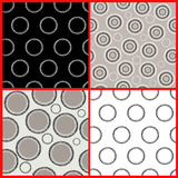 Contrasting pattern Royalty Free Stock Photography