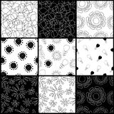 Contrasting pattern Royalty Free Stock Photo
