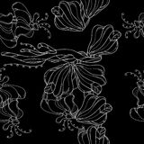 Contrasting pattern. Contrasting deep pattern with lace Royalty Free Stock Photography