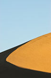 Contrasting Sand Dune Ridge Stock Photos