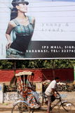 Contrasto in India Fotografia Stock Libera da Diritti