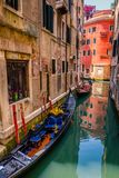 Contrasts in Venice stock photography