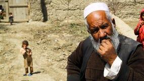 Contrat à terme et passé afghans Images stock