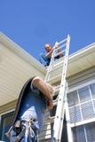 Contratantes do telhado Foto de Stock Royalty Free
