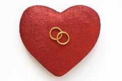 Contrato y unión del amor Foto de archivo libre de regalías