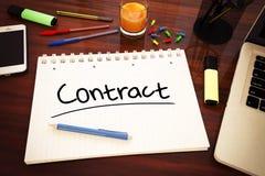 Contratto Fotografie Stock