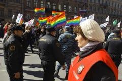 Contre la loi anti-gaie photographie stock