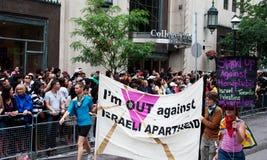 contre la ségrégation i Israël m à l'extérieur Photos libres de droits