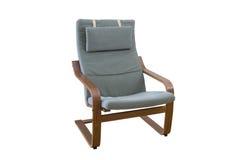 contre le bois de blanc de cerise de fond de fauteuil Photographie stock libre de droits