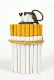 Contre le tabac Photo libre de droits