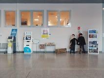 Contre- rapport dans l'hôpital photo libre de droits