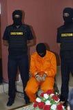 Contrebandiers de cocaïne photos libres de droits