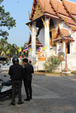 Contredanse (Wat Na Phra Men - Ayutthaya - Thaïlande) Lizenzfreies Stockfoto