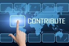 contribute stock abbildung